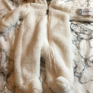 Baby carters snow suit NWT